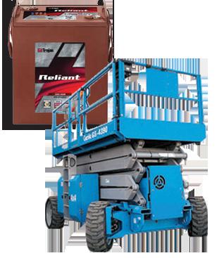 Trojan Aerial Work Platform Batteries