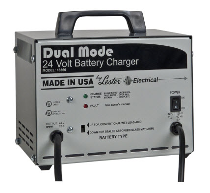 Lester - Dual Mode Battery Chargers - DISCONTINUED