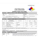 SDS & MSDS Safety Data Sheets