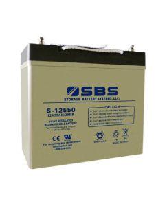 S-12550: AGM VRLA Batteries