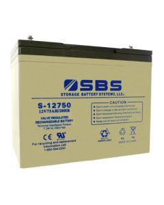 S-12750: AGM VRLA Batteries