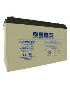 S-12V120: AGM VRLA Batteries