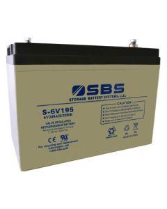 S-6V195: AGM VRLA Batteries