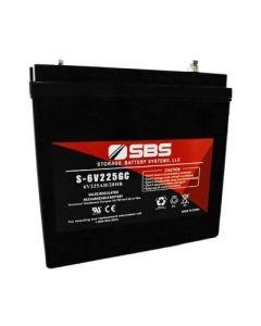 S-6V225GC: AGM VRLA Batteries
