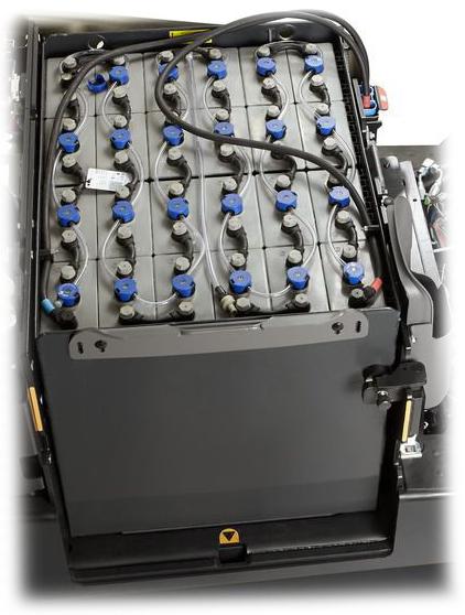 Crown Din Bolt-on Forklift Battery SC 600, SCT-6000, SCF-6000
