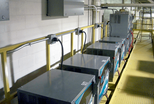 battery charger area