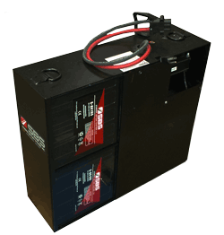 maintenance free battery and charger power pack