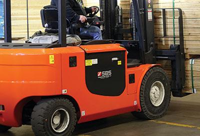 SBS Battery in Forklift