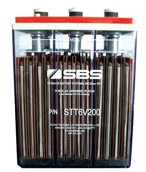 STT Serie Exponential Power inundada 12v/6v bateria plomo-acido
