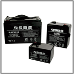 S series battery for emergency lighting applications