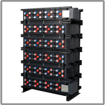 E-AGM battery for industrial power applications