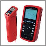 Battery testers for oil and gas applications