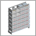 AGM series battery for renewable applications