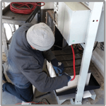 Battery service and maintenance for renewable applications