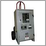 Battery maintenance chargers for telecom applications