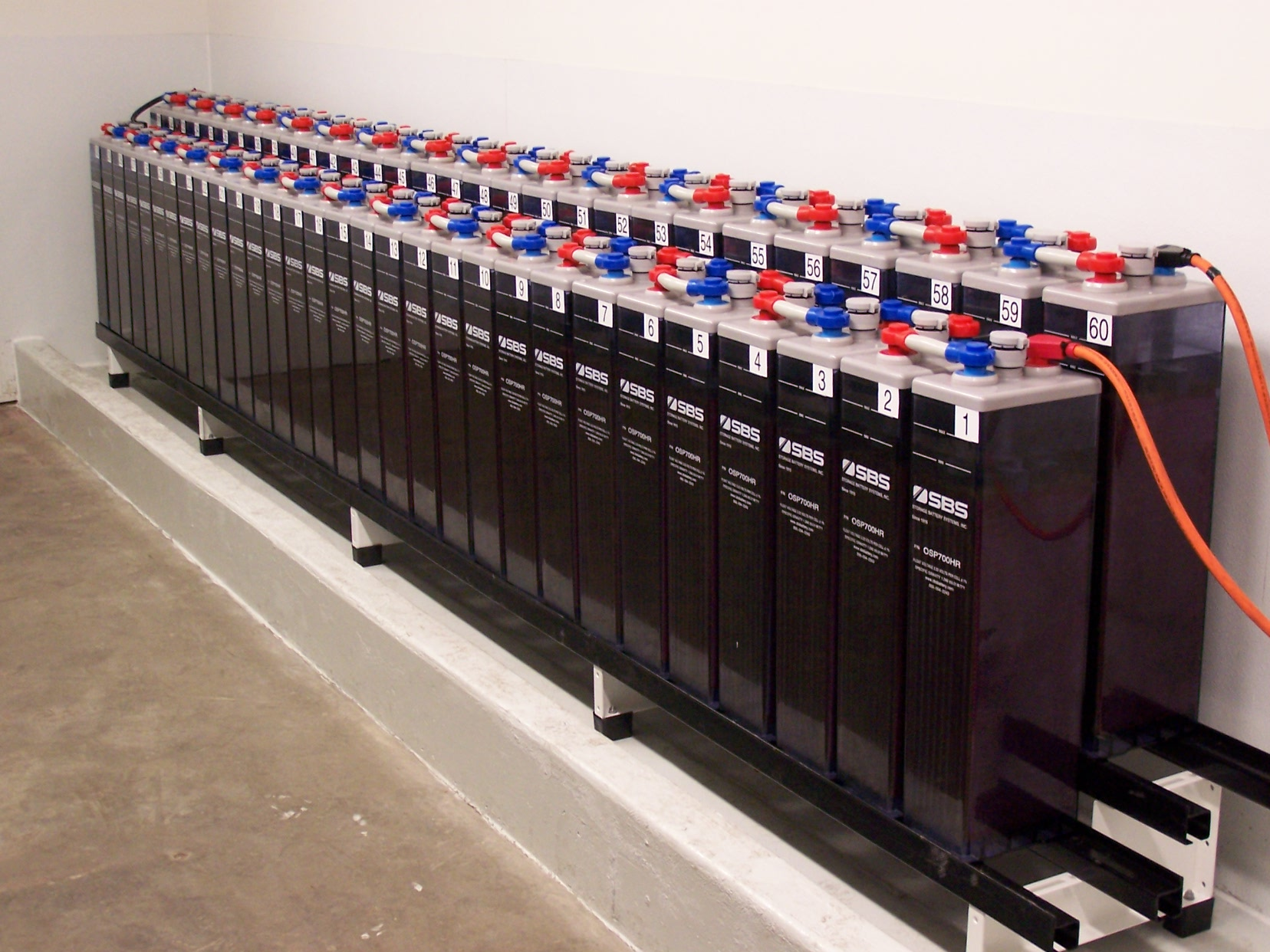 Battery Banks, Battery Array, OPzS Battery Bank, Substation Battery Bank, Utility Battery Banks