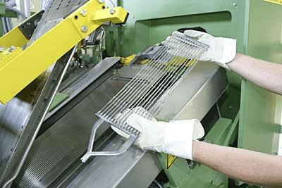 Hadi construcción de placas por moldeo a presión estrías positivas resistentes a la corrosión